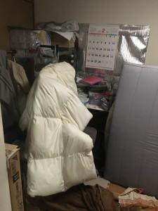 西成区のアパートで特殊清掃、ハウスクリーニングをさせて頂きました。
